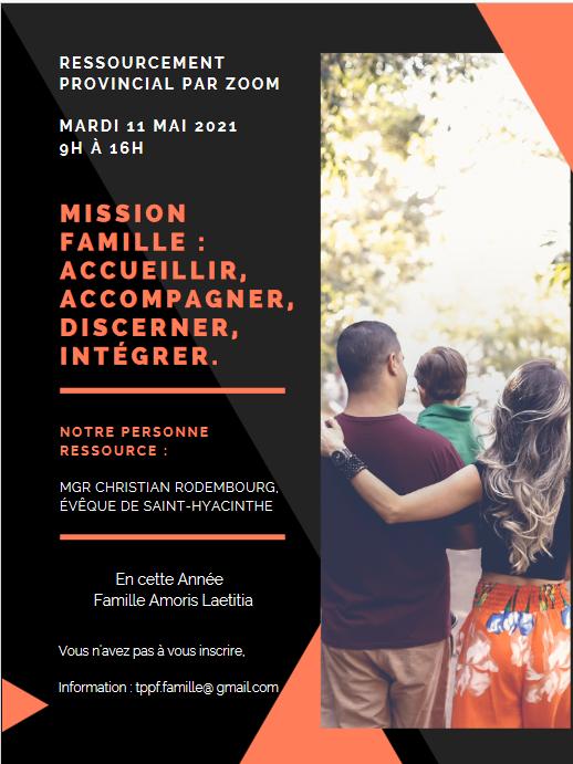 Affiche - Mission famille