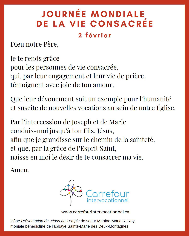 Prière - JMVC