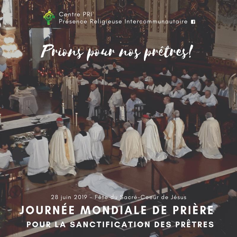 Prions pour nos prêtres